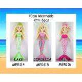 12 Asst 70cm Mermaids