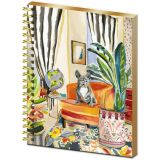 Spiral Hard Cover Journal - Decorator Frenchie