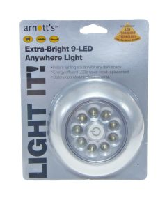 9 LED UltraBrPushLight-Single