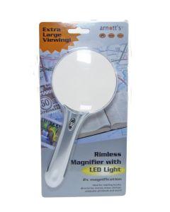 Rimless 9cm Handle Mag & LED