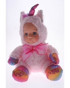 Fur Baby 25cm Pink Unicorn PRINCESS