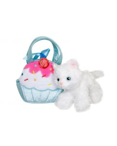 Kitty Cup Cake Blue Bag