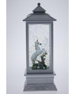 White Lantern with Unicorn