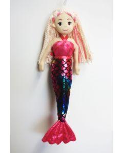45cm RILEY Dark Pink Mermaid