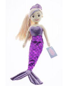 45cm CELESTE Dark Pink/Purple Mermaid