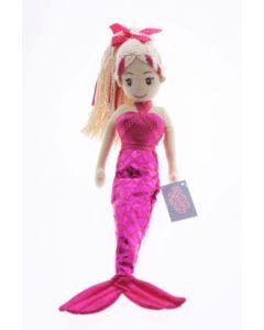 45cm TABITHA Pink Mermaid