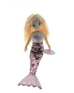 70cm LUCKY Pink F-S Mermaid