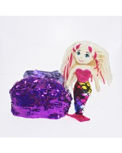 30 F-S Bag Dark Pink AURORA Mermaid