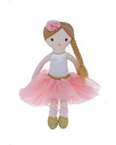 40cm Ballerina with Long Braid Plush