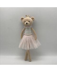 35cm Bear Ballerina Plush