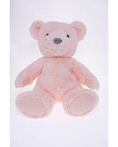 Sitting Plush Bear Pink