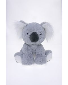Sitting Plush Koala Grey