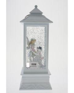 LED W-S Lantern Fairy/Snowman