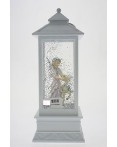 LED W-S Lantern Fairy/Deer