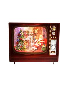 LED W-S TV Plays Night B4 XMAS